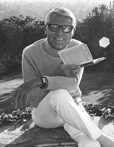 Cary Grant at home, 1970s