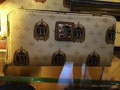 Dooney & Burke Club 33 Wallet: Shop Disney: Club 33 merch, Disneydaze.com