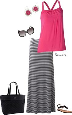 """Pretty in pink"" by irene541 ❤ liked on Polyvore by coolnana"