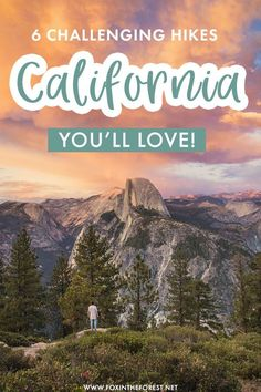 Looking for challenging but super epic hikes in California? If you're in need of a getaway in nature around California, here are some of the most epic hikes in California for pros! #California Canada Travel, Usa Travel, California Travel, Northern California, Travel Guides, Travel Tips, Hiking Tips, Best Hikes, Outdoor Adventures