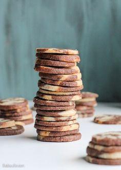 Chocolate Vanilla Swirl Icebox Cookies | Bob's Red Mill