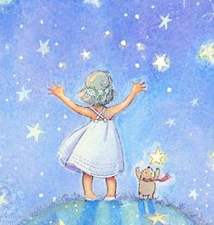 Reach for the Stars by Periwinklesky on Etsy, $28.99