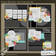 Scrapbook 2 Page Layouts by kerri.smith.167