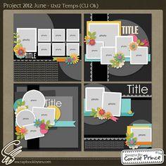 7,5,4 3 photo layouts
