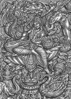 Find 15 Top Clinical Psychology Graduate Programs in Georgia Here.However plenty of high-quality reasonably-pric. Shiva Art, Krishna Art, Hindu Art, Shiva Shakti, Pencil Art Drawings, Art Drawings Sketches, Mandala Drawing, Mandala Art, Saraswati Goddess