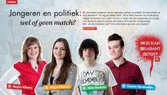 Jongeren en politiek: wel of geen match? Magazine, Cover, Movie Posters, Film Poster, Popcorn Posters, Warehouse, Film Posters, Blanket, Poster