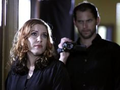 When a desperate couple fears for their grandson's safety, Steve and Amy are called to Independence, OR, to investigate. While Steve discovers multiple tragedies surrounding the property, Amy encounters spirits capable of changing their appearance. Scary Ghost Pictures, Ghost Photos, Real Haunted Houses, Haunted Places, Amy Allen, Paranormal Photos, Mirror House, Real Ghosts, Ghost Adventures