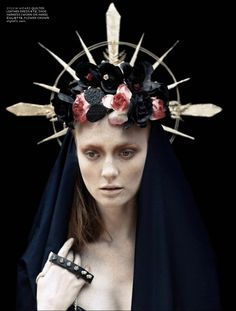 Church / sex / religion / fashion / crown of thorns