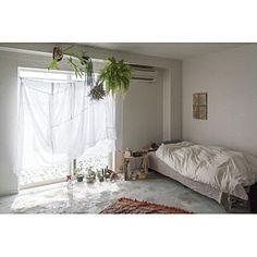 Overview/無印良品/IKEA/植物/カーテン/一人暮らし...などのインテリア実例 - 2016-02-27 04:08:21