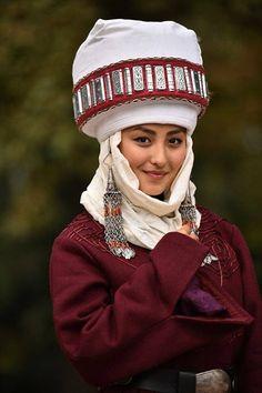 A Kazakh girl