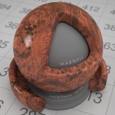burled mahogany