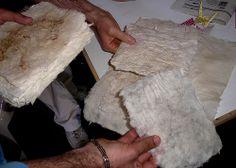 Nipponica 2007 Carta realizzata durante il laboratorio di washi condotto dal maestro Akiyama Nobushige