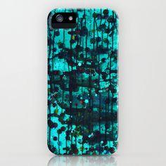 Untitled Aqua  iPhone Phone Case iPhone 6 by HylaWaldronArtist