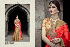 Very Beautiful Bollywood Style Traditional Indian Lehenga Lehnga in Gold Color Bridal Lehenga Choli, Indian Lehenga, Lehenga Saree, Anarkali Dress, Bollywood Bridal, Bollywood Saree, Bollywood Fashion, Indian Ethnic Wear, Saree Collection