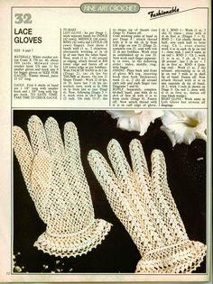 28 Beste Afbeeldingen Van Gehaakte Handschoenen Crochet Gloves