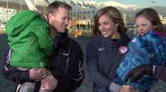 US skeleton racer says family helps her succeed....cool parents they are