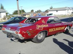 One of a kind Buick funny car.