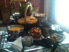 CJ's Catering: display of appetizers for an event in Round Rock, TX. Georgetown Tx, Catering Display, Round Rock, Central Texas, No Cook Meals, Paella, Table Settings, Appetizers, Menu