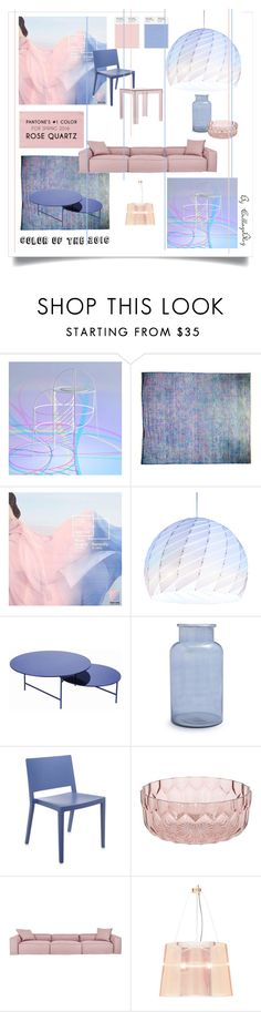"""Pantone 2016"" by collage-blog ❤ liked on Polyvore featuring interior, interiors, interior design, home, home decor, interior decorating, LA CHANCE, Sur La Table, Kartell and Kartell in Tavola"