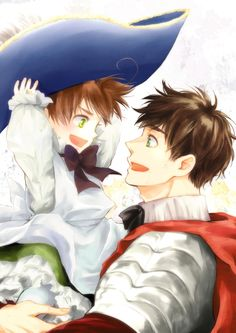 Hetalia Romano | I just love the way Spains looking at him, like a loving proad father kinda look, its extermly adorable, love this! X) ~ - Hetalia Romano Fan Art (34409424) - Fanpop fanclubs
