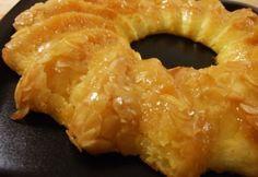 Sült tejbegríz 2.- mézes-mandulás Onion Rings, Mousse, Panna Cotta, Ethnic Recipes, Food, Dulce De Leche, Essen, Meals, Yemek