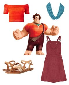 """""""Wreck it Ralph"""" by alhcreates on Polyvore featuring Miss Selfridge, Lumie, RALPH and TOMS"""