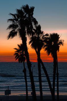 Oceanside Beach Sunset, Oceanside, California | USA byRaj Hanchanahal Photography