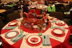 Coca-Cola Theme Party | Katrina Henry: Silent Auction & Dinner