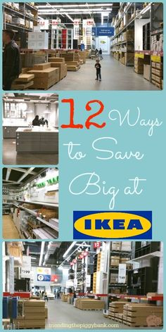12 Ways to Save Big at IKEA - If you've never been, IKEA is a home decor and DIY lovers dream come true. Check out my 12 tips for saving money at IKEA. If you're looking for a discount, you won't wanna miss the bonus tip.
