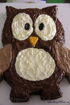 How to make this Owl Cake