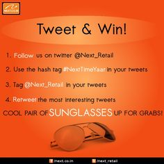The twitter contest on 20th Oct 2012
