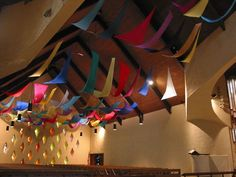 """A Visual Presence"" was installed in Christ Church Hamilton/Wenham for the feast day of Pentecost (June 8, 2003). This liturgical work of art consists of over 60 colored silk banners suspended from..."