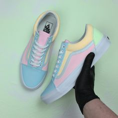 a1ff2b66c8b Explore our multi colored Vans Old Skool custom sneakers. If you are  looking for hand