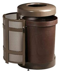 Decorative Outdoor Trash Containers Outdoor Trash Cans