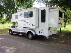 Ideas Luxury Truck Camper For 2019 Slide In Truck Campers, Truck Bed Camper, Pickup Camper, Rv Campers, Camper Van, Pickup Trucks, Petit Camping Car, Truck Camping, Camping Trailers