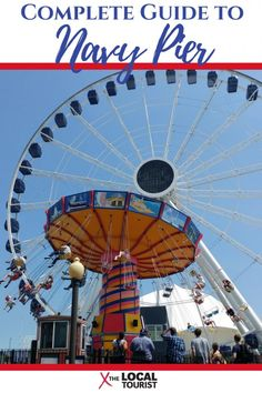 This is your complete guide to Navy Pier, one of Chicago's most popular attractions. Find dining, things to do, where to stay, and more with this comprehensive resource. Alaska Travel, Canada Travel, Travel Usa, Vacation Spots, Girls Vacation, Vacation Travel, Vacation Ideas, Travel Guides, Travel Tips