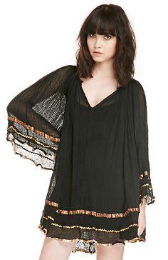 Jen's Pirate Booty Royal Cosmo Mini Dress in Black XS / S - M/L | DAILYLOOK