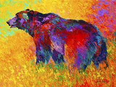 Into The Wind Painting by Marion Rose - Into The Wind Fine Art Prints and Posters for Sale