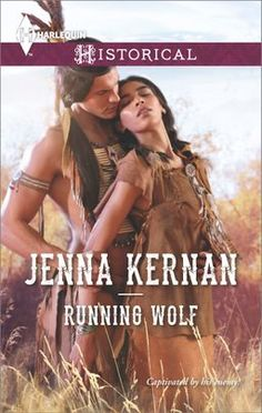 Running Wolf (Harlequin Historical) by Jenna Kernan. Rival tribes… Running Wolf is a valiant Sioux warrior. During his first raid as war chief, he captures a surprising Crow enemy—a woman! This spirited fighter is unlike any he's ever met. Her beauty and Native American Movies, American Indians, American Art, Cheyenne Warrior, Book Buyers, Romantic Pictures, Historical Romance, Romance Novels, Running Wolf