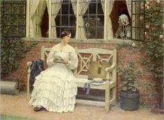 the latest news-Edmund Blair-Leighton