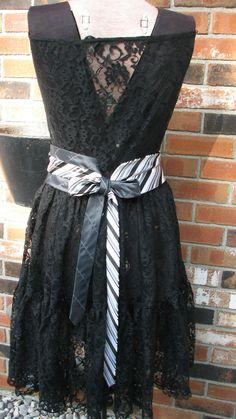 adc2b2947274cd Silk Necktie Belt - Repurposed Necktie Belt - Refashioned Silk Necktie Belt