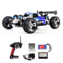 WLtoys A959 1/18 Scale 2.4G RC Off-Road Racing Car with Anti-vibration System Buggy Racing Car