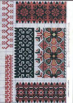 Eastern Slav Embroidery Schemes - 1 ~ Folklored