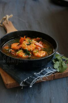 Shrimp Curry with Nigella and Coriander. Hoping I can find nigella ... not even sure what it is!  :)