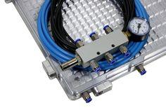 Vakuumspannplatte SPVPL 5040 Basic mit Zubehör