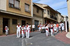 Santacara: Ronda Jotera en Santacara Fiestas de Santa Eufemia... Saints, Fiestas