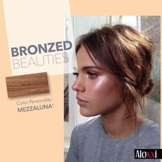 Be on trend and bronze up #Brunettes this Fall!  #whatsyourcolorpersonality