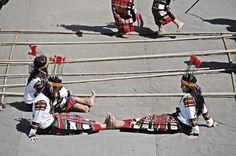 Resting Cheraw dancers, Mizoram