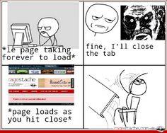 Comic - Closing Tabs