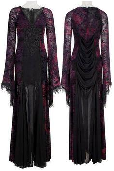 gotica clothes with stripes - Pesquisa Google